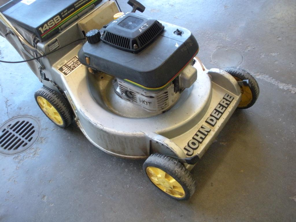 John Deere 14sb Parts : Ibid john deere sb lawn mower push used