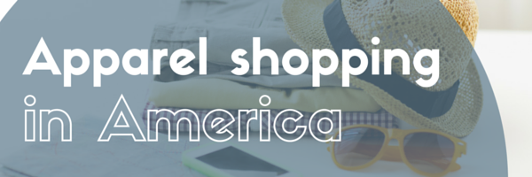 Apparel shopping in America