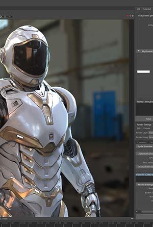 Curso Maya Autodesk Render