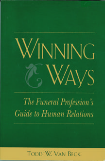 """Front Cover of """"Winning Ways"""" by Todd Van Beck"""