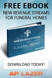 AP Lazer: Free Ebook- new revenue streams for funeral homes