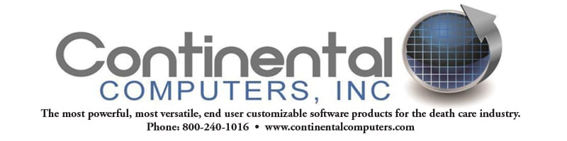 Continental Computers, Inc: the most powerful, most versatile, end user customizable software products for the death care industry.