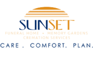 Sunset Funeral Home with Tagline