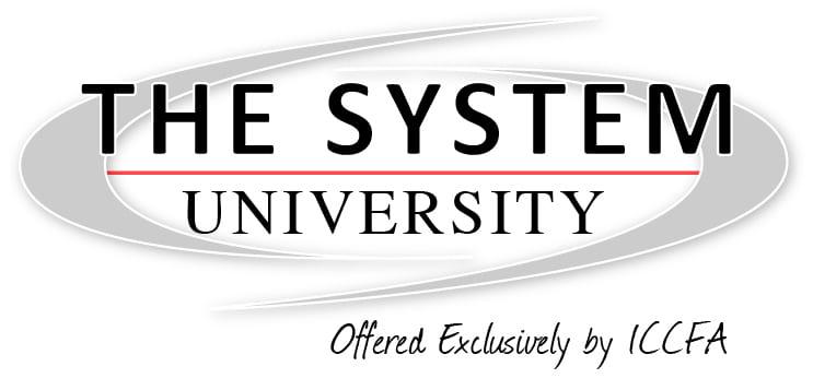 The System University Logo with Tagline