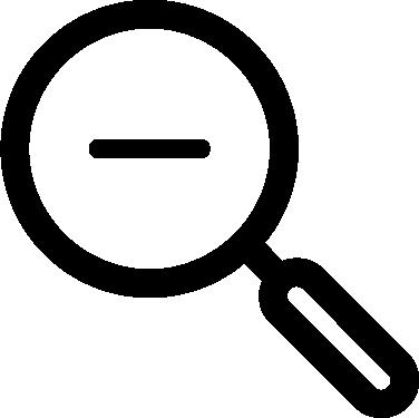 Magnifier Minus icon