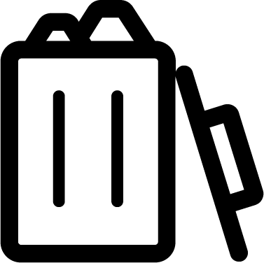 Full Trash Can icon