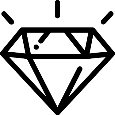 Diamond free icon