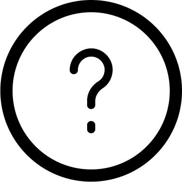 Info icon - question mark, information, info, help, question