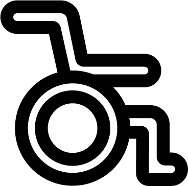 Wheelchair icon - handicap, access, disabled, wheelchair, disability, hospital, medical