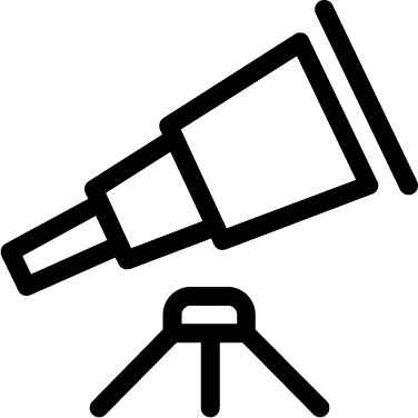 Telescope free icon
