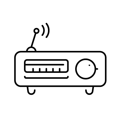 Radio free icon