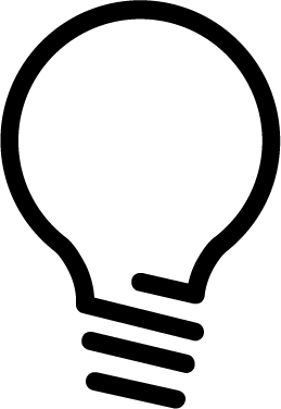 Light Bulb free icon