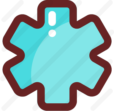 Asterisk free icon