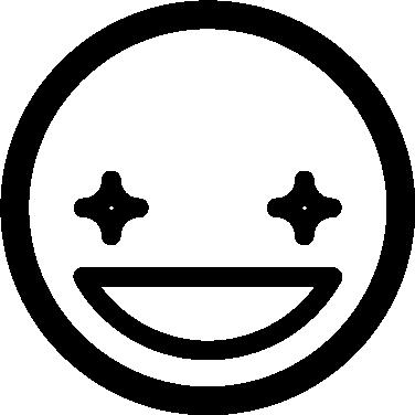 Glitter free icon