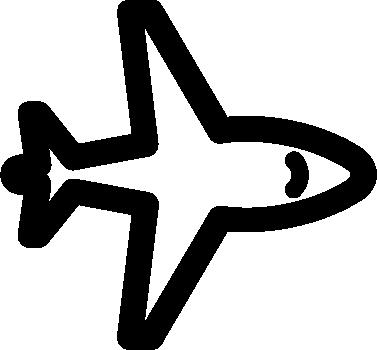 Aeroplane free icon