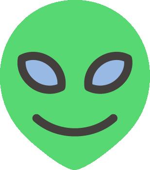 Alien free icon