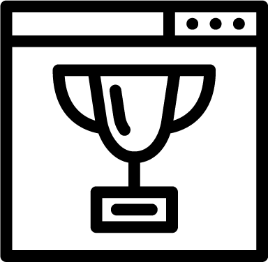 Ranking icon - ranking, browser, trophy, cup