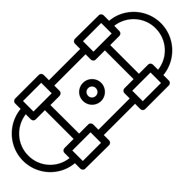 skateboard free icon