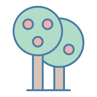 tree fruit icon