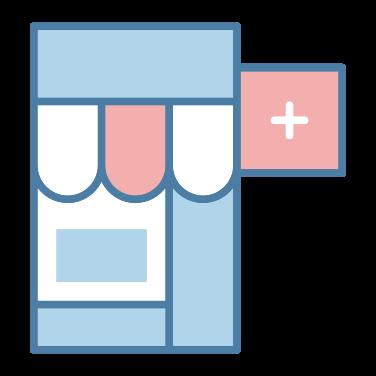 pharmacy free icon