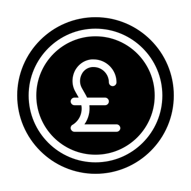 Pound free icon