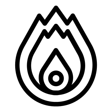 Fire free icon