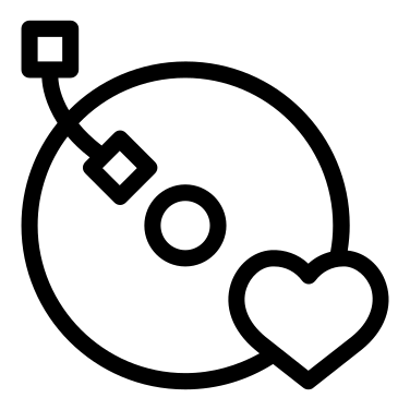 Vynil free icon