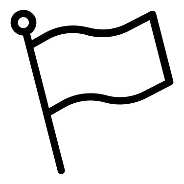 Flag free icon
