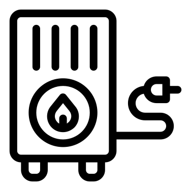 Heating icon