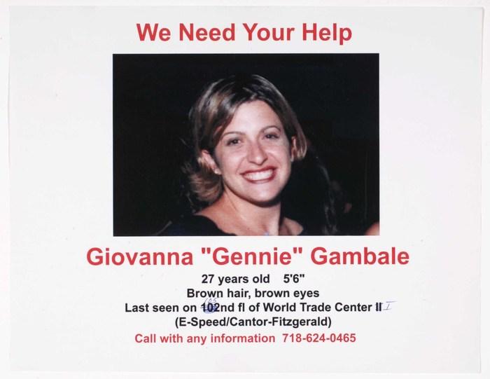 [Missing: Giovanna