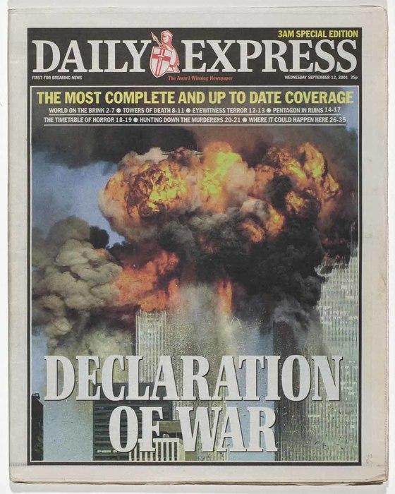 Newspaper: Declaration of War
