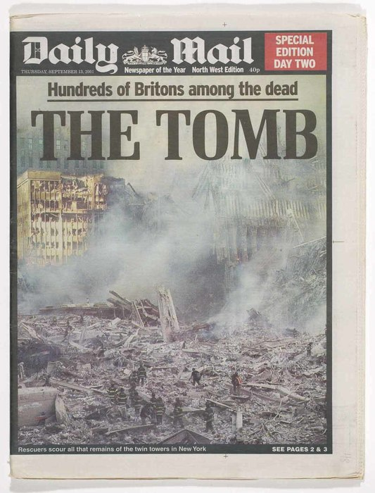 Newspaper: The Tomb