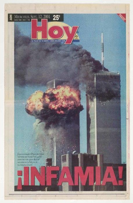 Newspaper: ¡Infamia!