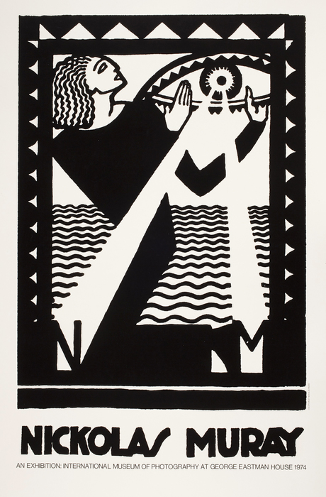 Exhibition poster for Nickolas Muray, International Museum