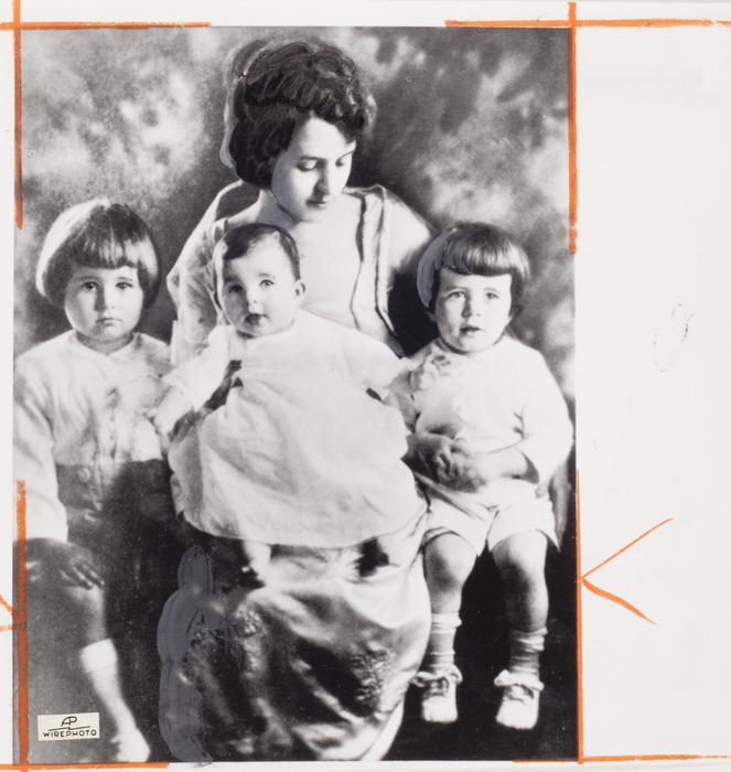 [Rose Kennedy with children Joseph Jr., Rosemary, and John F. Kennedy]