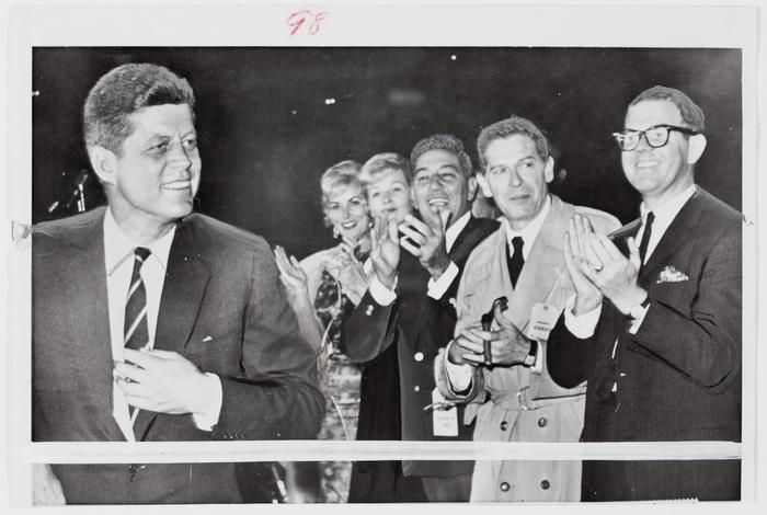 half off 7532e 12bc5 Senator John F. Kennedy with Janet Leigh, Jo Stafford, Louis ...