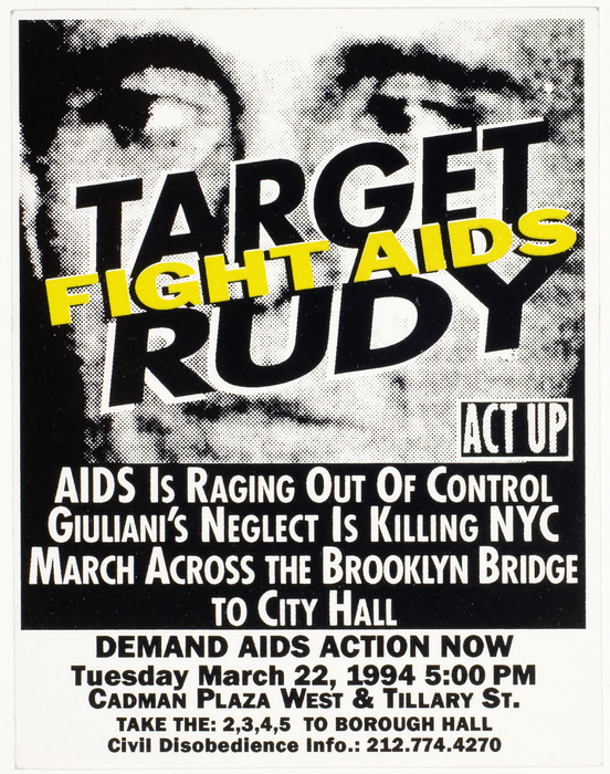 Target Rudy, Fight AIDS