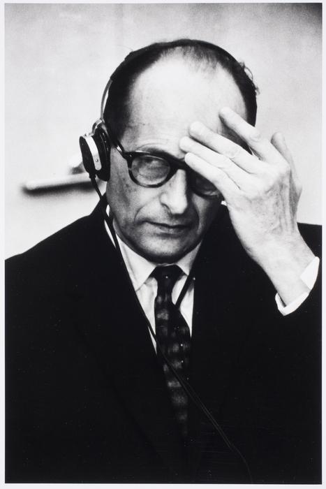 Adolf Eichmann at his trial, Jerusalem