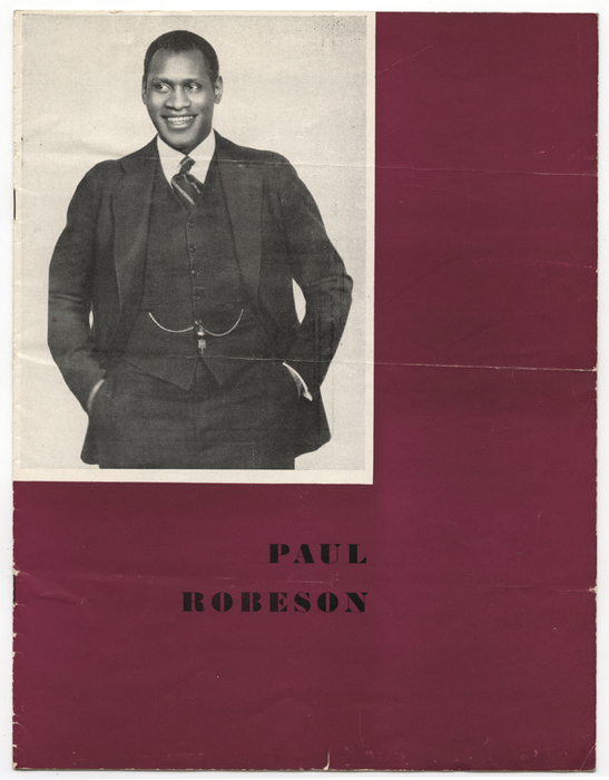 [Paul Robeson Othello performance schedule]
