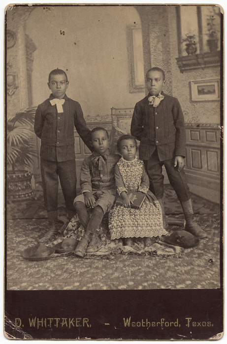 [Jeff, George, Oliver, and Lillie Wayes]