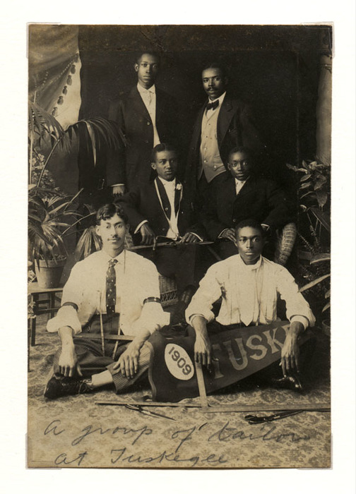 A group of tailors at Tuskegee
