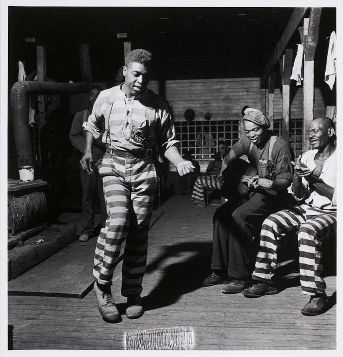 In the convict camp in Greene County, Georgia