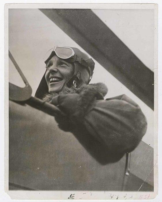 [Amelia Earhart, Philadelphia]