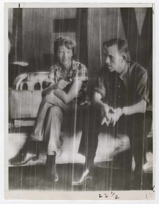 [Amelia Earhart and Fred Noonan, Bandung, Indonesia]