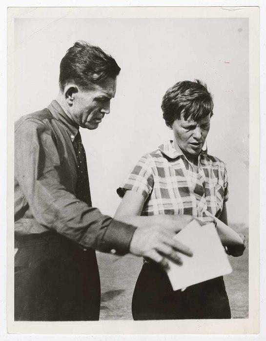 [Amelia Earhart and Fred Noonan, Dakar, Senegal]