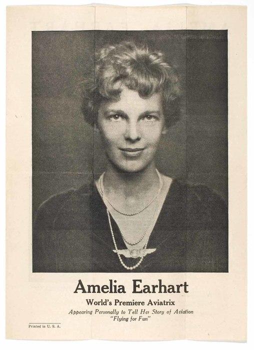 Amelia Earhart: World's Premiere Aviatrix