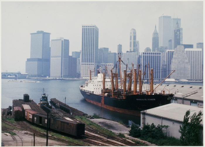View from Brooklyn Promenade, New York