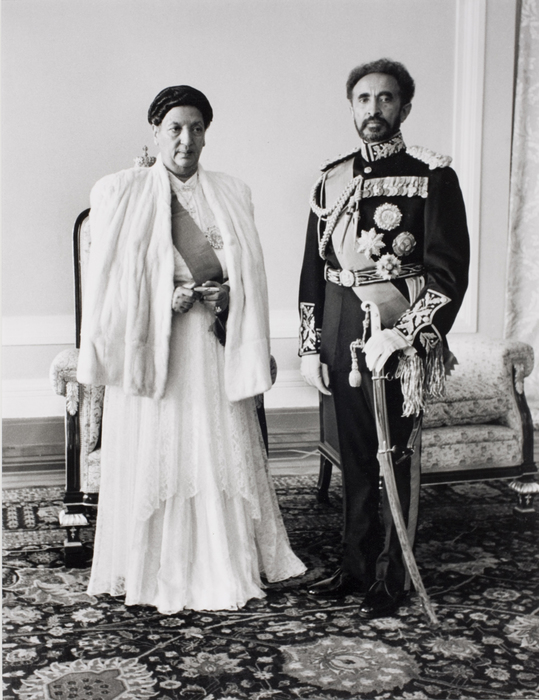 Emperor Haile Selassie of Ethiopia and empress, Addis Ababa | International  Center of Photography