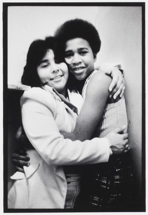 Lesbian Couple Embracing, Troopers Hall, Hollywood