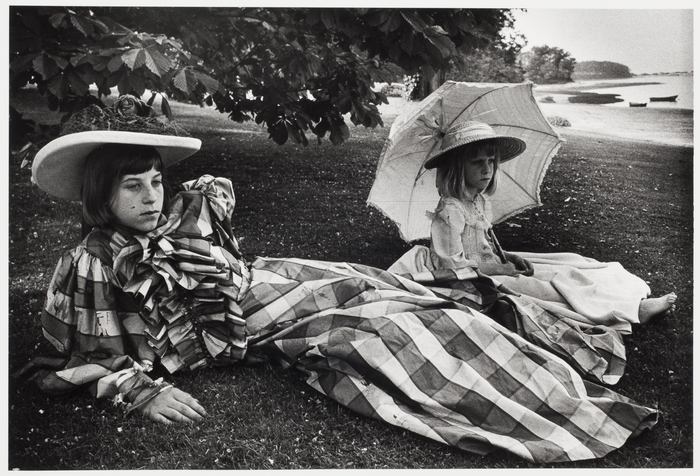 [Stanford White's granddaughters, Long Island, New York]